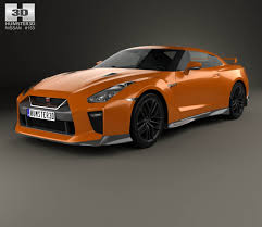 nissan gtr all models nissan gt r 2017 3d model hum3d