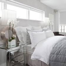 Grey And White Rooms | white bedroom ideas with wow factor ideal home