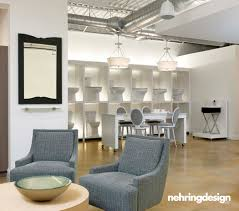 immerse plumbing showroom seating area by nehring design fun