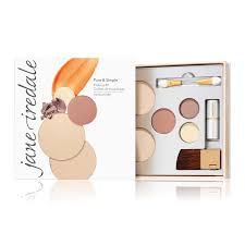 pure and simple mineral makeup kit jane iredale