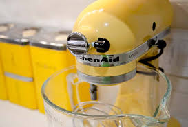 Yellow Kitchen Aid - complete kitchen remodel leite u0027s culinaria