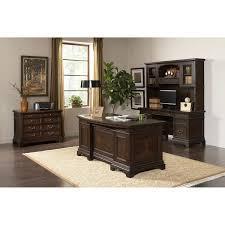 Executive Desk And Credenza Andover Executive Desk Credenza With Hutch And File Cabinet