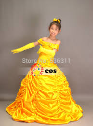 Belle Halloween Costume Kids Belle Cosplay Costume Picture Detailed Picture