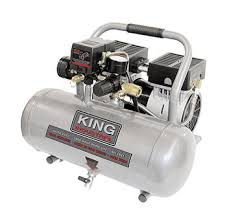 King Woodworking Tools Canada by Ultra Quiet Oil Free Air Compressor King Canada Kc 1620a Elite