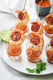 shrimp and chorizo appetizers recipe eatwell101