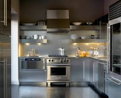 how to achieve classic yet modern kitchen cabinets a modern kitchen with stainless steel cabinets and appliances