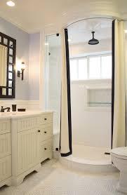 L Shape Curtain Rod L Shaped Shower Curtain Rod Bathroom Traditional With Bathroom