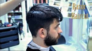 how to style razor haircuts modern haircut with razor for men haircut and style 2015 youtube