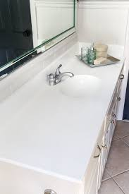 diy painted bathroom sink countertop bless u0027er house