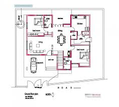 contemporary house in kerala modern design plans houses plan