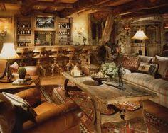 Built And Designed To Feel Like An Old Western Lodge Movie - Western style interior design ideas