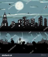 halloween background moon halloween night background batgrave gravestone graveyard stock