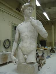 guest post plaster cast of michelangelo u0027s david in the plaster