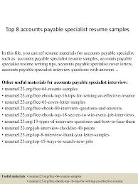 resume description for accounts payable clerk interview accounts payable specialist resume sle therpgmovie