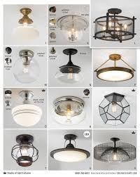Clearly Modern Semi Flush Ceiling Light Shades Of Light Farmhouse Classics 2017 Clearly Modern Semi