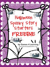 Halloween Hangman Skeleton Game Classroom Freebies Too Halloween Story Starters Journal Writing