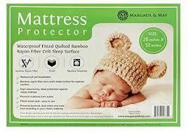 Bamboo Crib Mattress Ultra Soft Waterproof Crib Mattress Protector Pad From Bamboo