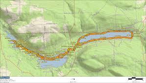 Finger Lakes New York Map by Finger Lakes Paddling Report