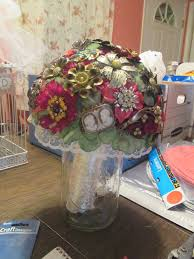 miss merry u0027s house with the picket fence brooch bouquet