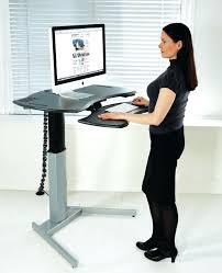 desk wall mounted standing computer desk ergonomic stand up desk