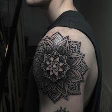 mandala shoulder tattoo best tattoo ideas gallery