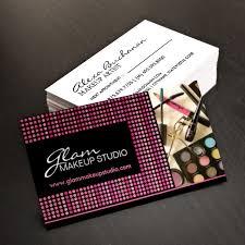 Makeup Business Cards Designs Business Card Design For Freelance Makeup Artist Business Cards
