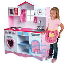 childrens wooden kitchen furniture childrens wooden kitchen pretend play kitchens ebay