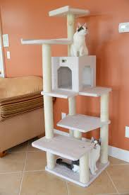 cat furniture armarkat cat tree furniture condo height 60 inch to 70 inch