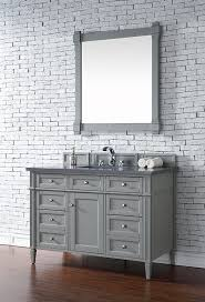 48 Vanity With Top James Martin Brittany Single 48 Inch Transitional Bathroom