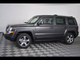 jeep patriot 2017 sunroof new 2017 jeep patriot high altitude sport utility in massillon