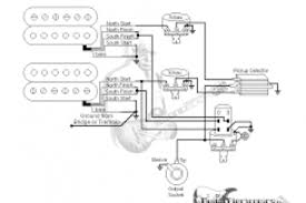 wiring diagram one humbucker one volume one tone wiring diagram
