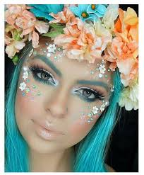 Sunflower Halloween Costume 25 Flower Makeup Ideas Hippie Face Paint