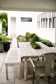 Build Outdoor Garden Table by Best 25 Farmhouse Outdoor Furniture Ideas On Pinterest Patio