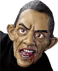 Barack Obama Halloween Costume Amazon Morbid Industries Zombama Mask Clothing