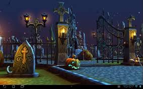 halloween background sound effects halloween cemetery 3d lwp android apps on google play