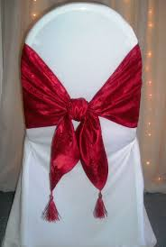 chair tie backs as weddings