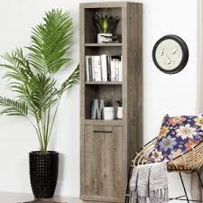 Pine Bookcase With Doors Bookcases With Doors You U0027ll Love Wayfair