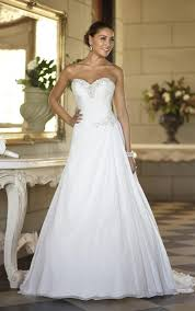 simple wedding gown wedding dresses simple wedding dresses stella york
