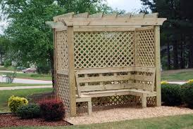 Trellis Arbor Designs 45 Garden Arbor Bench Design Ideas U0026 Diy Kits You Can Build Over