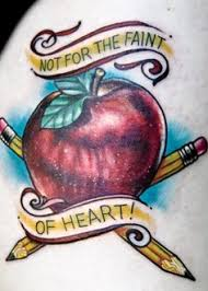 teacher tattoo tattoos pinterest teacher tattoos teacher