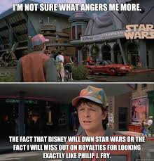 Star Wars Disney Meme - i m not sure what angers me more the fact that disney will own