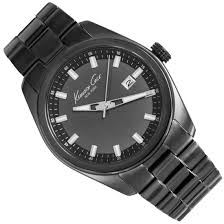 20 Classic Black And White Cole Classic Black Dress Mens Watch Kc9333