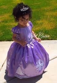 Princess Sofia Halloween Costume Custom Sofia Princess Dress Gown Toddler Size