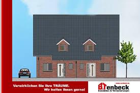 Haus Immobilien Neubau Von 4 Doppelhaushälften Haus 4 In Ruhiger Lage Von Rhede