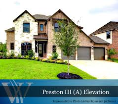 woodforest westin homes