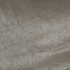 metallic silver coated taupe linen fabric contemporary drapery