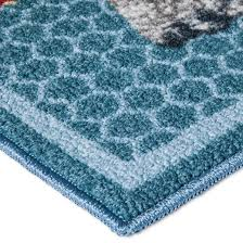 Blue Kitchen Rugs Blue Roosters Kitchen Rug 20