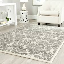 9 X 11 Area Rug Ivory And Grey Area Rug Rug Designs