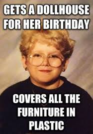 Meme Young - introducing the 60 year old girl the funniest meme we ve seen in