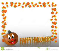 free haloween halloween border candy corn royalty free stock photography image
